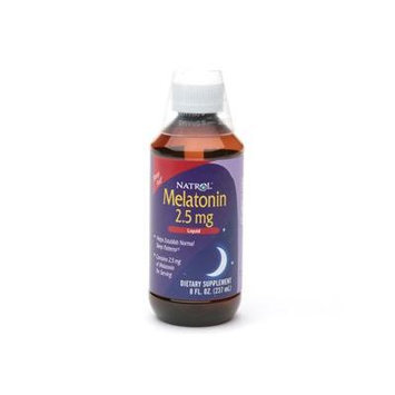 Natrol Melatonin, 2.5mg 8 fl oz (237 ml)