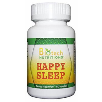 Biotech Nutritions Happy Sleep Tablets, 30 Count