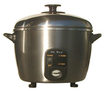 Sunpentown 6-Cup Stainless Steel Rice Cooker / Steamer
