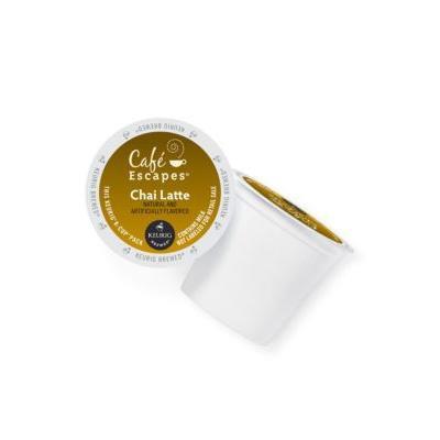 Keurig Cafe Escapes Chai Latte K-Cup 16 Count