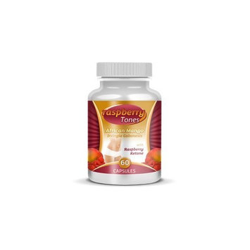 Raspberry Tones Raspberry Ketones- 250 mg per Capsule-Natural Weight Loss Formula-60 Count