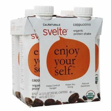 CalNaturale Svelte Organic Protein Shake, Cappuccino 4 ea