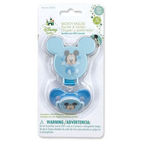 Disney Mickey Mouse Pacifier & Pacifier Holder