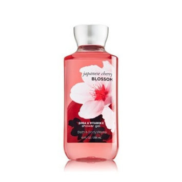 Bath Body Works Bath and Body Works Shea Enriched Shower Gel New Improved Formula 10 Oz. (Japanese Cherry Blossom)
