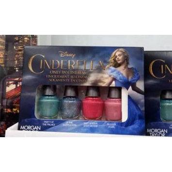 New Morgan Taylor Cinderella Mini 4 Pack Nail Polish Lacquer Collection Set 5mL