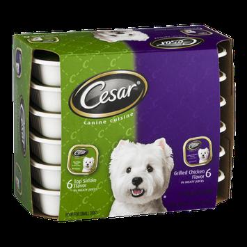 Cesar Canine Cuisine Small Dog Food Trays - 12 CT