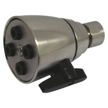 Kingston Satin Nickel Four Jet Solid Brass 2-inch Shower Head