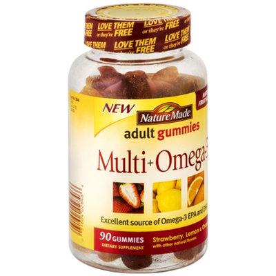 Nature Made Strawberry Lemon & Orange Multi + Omega-3 Dietary