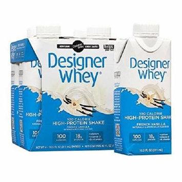 Designer Whey Protein Shake, French Vanilla 4 ea