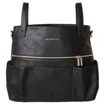 The Honest Co. Honest Carryall Satchel Diaper Bag in Black