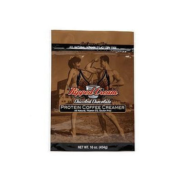 Ripped Cream Natural Protein Coffee Creamer, Chizzled Chocolate 16 oz (454 g)