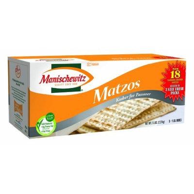 Manischewitz Matzo, Unsalted, 80 Ounce Box