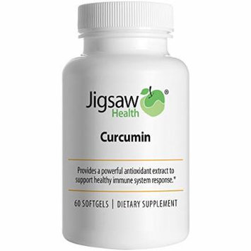Jigsaw Health Curcumin Softgels: 95% Curcuminoids, Curcumin Extract for Antioxidant Support. Best Extract Mixed With Medium Chain Triglycerides for a Super Absorbable Curcumin Supplement.