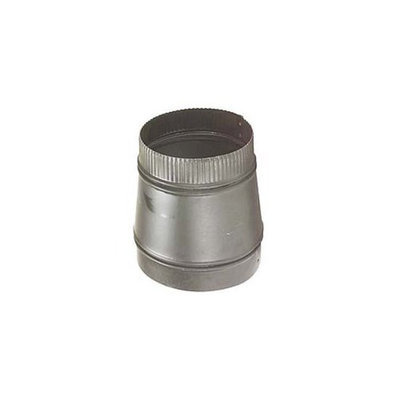 Norwesco 326007 7-in X 6-in Matte Black Stovepipe Reducers