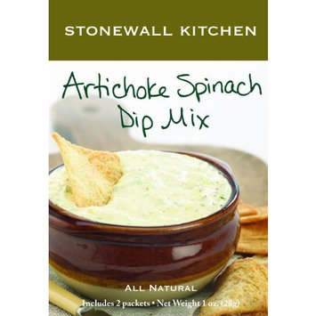 Stonewall Kitchen Artichoke Spinach Dip Mix, 1-Ounce Boxes (Pack of 6)