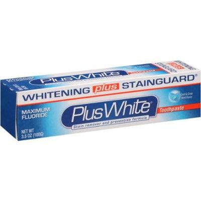 Plus White Cool & Crisp Mint Flavor Toothpaste, 3.5 oz