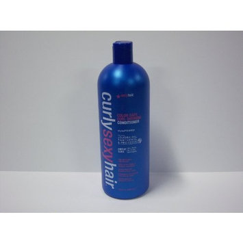 Sexy Hair Curly Sexy Hair Color Safe Curl Defining Conditioner, 33.8 Fluid Ounce