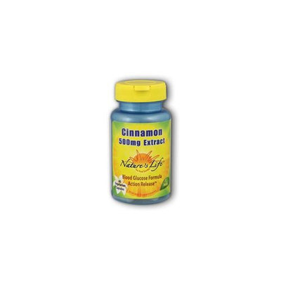 Cinnamon 500 mg Extract Nature's Life 60 Caps