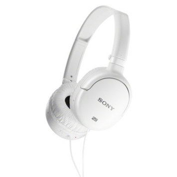 Sony On-the-Ear Noise Cancelling Headset - White (MDRNC8/WHI)