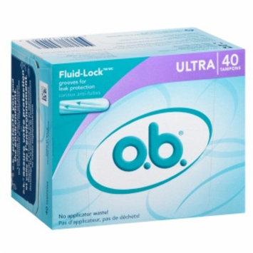 o.b. Tampons, Ultra, 40 ea