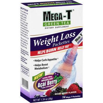 Mega-T Green Tea Weight Loss Mixed Berry Dietary Supplement