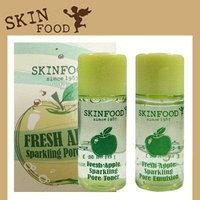 [SKIN FOOD] SKINFOOD Big Sale Fresh Apple Sparkling Pore Gift Set Sample / 5set+SAMPLE2EA/Korea Cosmetics