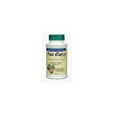 Select Nutrition Nature's Answer Pau D'Arco Inner Bark - 90 cap, 2 pack