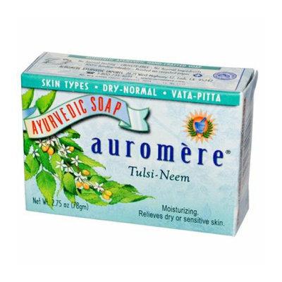 Auromere Ayurvedic Bar Soap Tulsi-Neem 2.75 oz