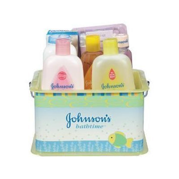 Johnson's Bathtime Essentials Gift Set Johnson And Johnson Shampoo Lotion Baby Infant Wash
