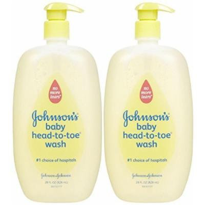 Johnson's Baby Bath Head-to-toe Baby Wash - 28 fl oz - 2 pk