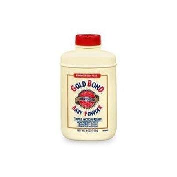 Gold Bond Cornstarch Plus Baby Powder - 4 Oz (Pack of 3)