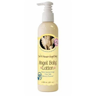 Earth Mama Angel Baby - Lotion Natural Vanilla Orange - 8 oz.