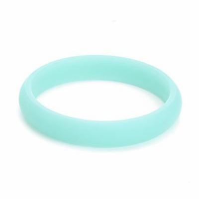 Chewbeads Juniorbeads Skinny Charles Jr. Bangle (Glow in the Dark) - Spearmint