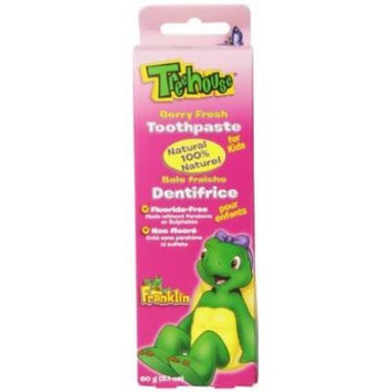 Treehouse By Natureclean Toothpaste, Berry Fresh, 2.1 Ounce