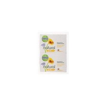 Dettol Bar Soap Natural Soothing 70g. (Pack 4)