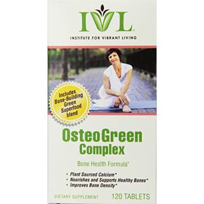 Institute For Vibrant Living Osteogreen Complex Tablets, 120 Count