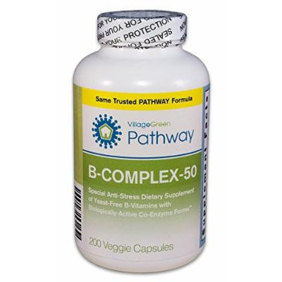 B-Complex-50 with coenzyme B vitamins