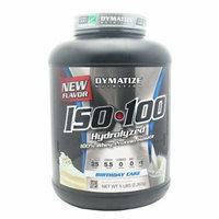 Dymatize ISO-100 Hydrolyzed 100% Whey Protein Isolate - Birthday Cake 5 LBS