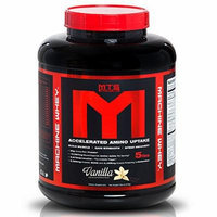 MTS Nutrition Machine Whey, Great Tasting Protein for Building Muscle, Vanilla, 5 Lbs (2270g)