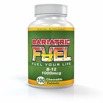 Bariatric Fuel Vitamin B12 Chewable/Subingual (100 tablets)- Bariatric surgeon recommended! 100% SATISFACTION GUARANTEED