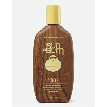 SUN BUM SPF 30 Moisturizing Sunscreen Lotion (8oz), Yellow