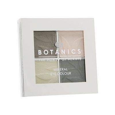 Boots Botanics Eye Shadow Quad, Velvet Green 0.16 oz