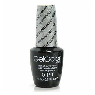 OPI Gel Color Nail Polish Lacquer - Coca-Cola Collection - GC C16 - My Signature is