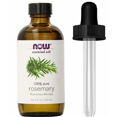 NOW Foods Rosemary Oil (Liquid), 4 oz + 1 Glass Dropper