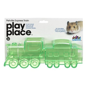 JW Pet Company Play Place PetVille Express Train Small Animal Toy