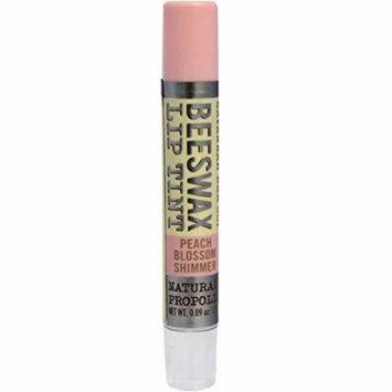Savannah Bee Company Natural and Organic Peach Blossom Shimmer Lip Tint, 0.09-Ounce