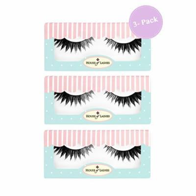House of Lashes , Feline 3 Combo Pack , , Premium Quality False Eyelashes for a Great Value, Cruelty Free , Eco Friendly