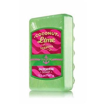 Bath & Body Works® Coconut Lime Verbena Glycerin Massage Bar Soap
