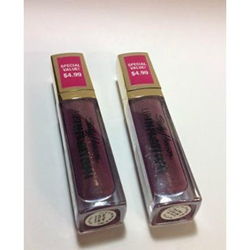(Pack of 2)sally Hansen Lip Inflation Plumping Treatment (Sonic Plum) Sealed Full Size.