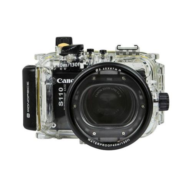 Monoprice Waterproof Camera Dive Housing For Canon S110